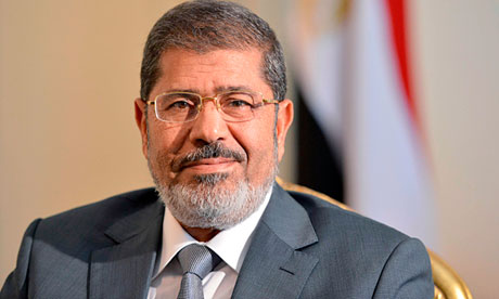 Mohamed Morsi, president of Egypt